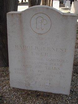 Harold Ernest Ewer