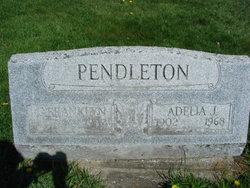 Adelia C <I>Jones</I> Pendleton