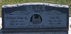 Leo H Black