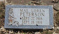 Mae Loren Peterson