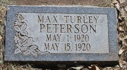 Max Turley Peterson