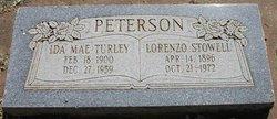Lorenzo Stowell Peterson