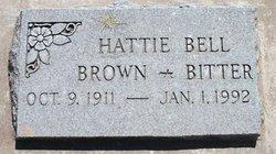 Hattie Bell <I>Black</I> Brown