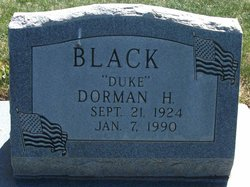 "Dorman Helquist ""Duke"" Black"