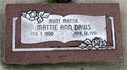 Mattie Ann Davis