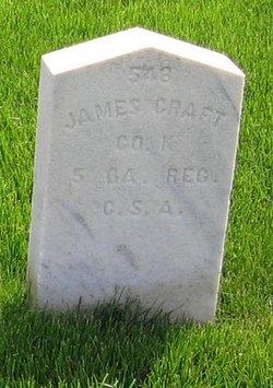 Pvt James Craft
