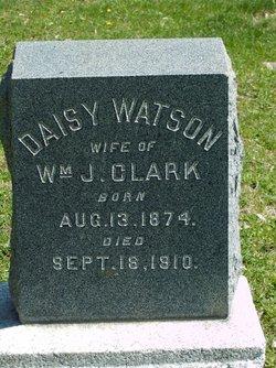 Daisy <I>Watson</I> Clark