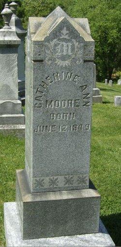 "Catherine Ann ""Kate"" <I>McKinney</I> Moore"