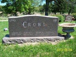 Leona E <I>Workman</I> Crowl