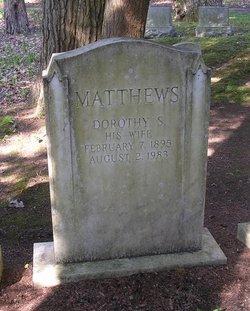 Dorothy <I>Smith</I> Matthews