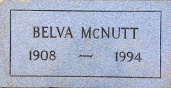 "Belva G. ""Billie"" <I>Armstrong</I> McNutt"