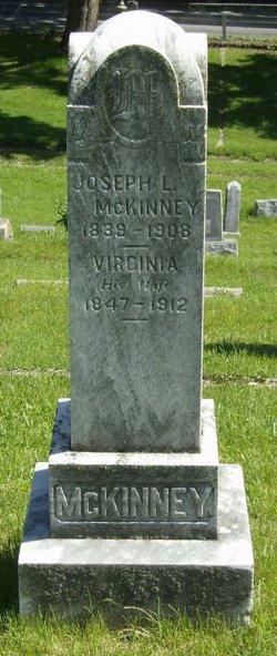 """Bertha Virginia """"Jenny"""" <I>Kearns</I> McKinney"""