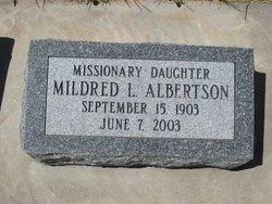 Mildred Leona Albertson
