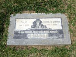 Elizabeth <I>Williams</I> Grissom