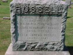 "Elizabeth Margaret ""Lizzie"" <I>Moll</I> Russell"