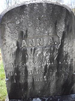 Anna Augusta <I>Furbush</I> Whitney