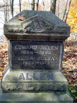 Eliza <I>Eaton</I> Allen
