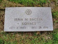 Irma M <I>Kovacs</I> Baczuk