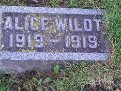 Alice Wildt