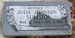 Julia Johnson Sumsion