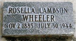 Rosella L Wheeler