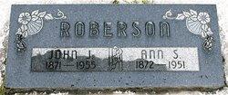 Ann <I>Spafford</I> Roberson