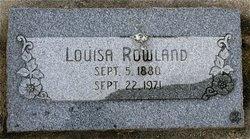 Louisa Rowland
