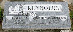 Mayree <I>Wainwright</I> Reynolds