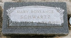 Mary Roylance Schwartz