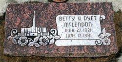 Betty Virginia Mclendon