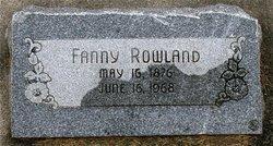 Fanny Rowland