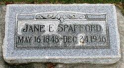 Jane Eliza <I>Taylor</I> Spafford