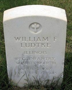 PFC William F Ludtke