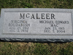 Virginia <I>Roudabush</I> McAleer