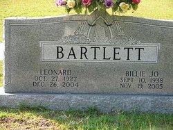 Billie Jo <I>Sanders</I> Bartlett