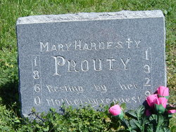 Mary L. <I>Hardesty</I> Prouty