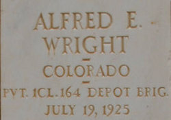 """Alfred Earl """"Fred STARR"""" Wright"""