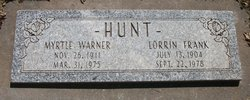 Lorrin Frank Hunt