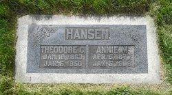 Annie Merintha <I>Mounteer</I> Hansen