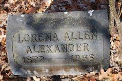 Lorena <I>Allen</I> Alexander