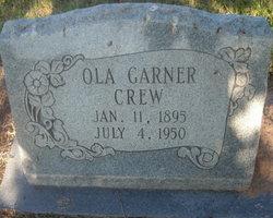 Mary Ola <I>Garner</I> Crew