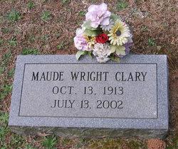 Maude <I>Wright</I> Clary