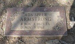 Ada <I>Speer</I> Armstrong