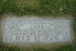 Beulah May Belle <I>Story</I> Carr
