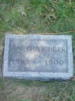 Bertha Rachel Burr