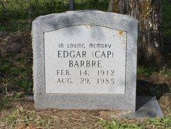 """Edgar """"Cap"""" Barbre"""