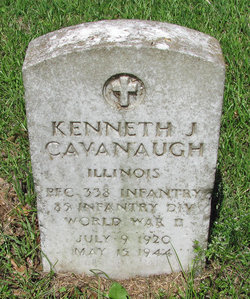 PFC Kenneth J Cavanaugh
