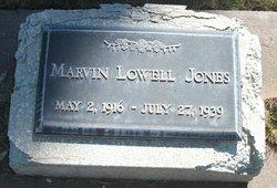 Marvin Lowell Jones