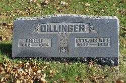 """Henrietta """"Etta"""" <I>Smith</I> Dillinger"""