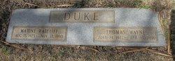 Maxine <I>Ratcliff</I> Duke